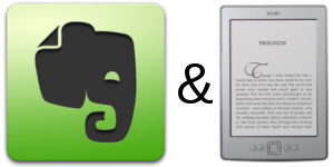 Evernote and Kindle